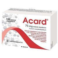 Acard, 75mg, 120 tabletek - Długi termin ważności! DARMOWA DOSTAWA od 39,99zł do 2kg! (5900257101244)