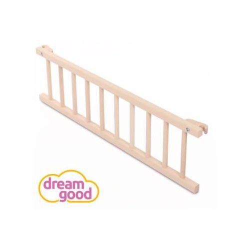 dreamgood Barierka ochronna do łóżka, naturalny