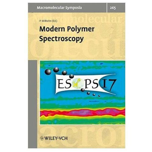 Modern Polymer Spectroscopy (9783527324385)