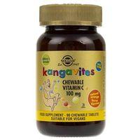 Solgar Kanguwity Witamina C smak pomarańczy - 90 pastylek