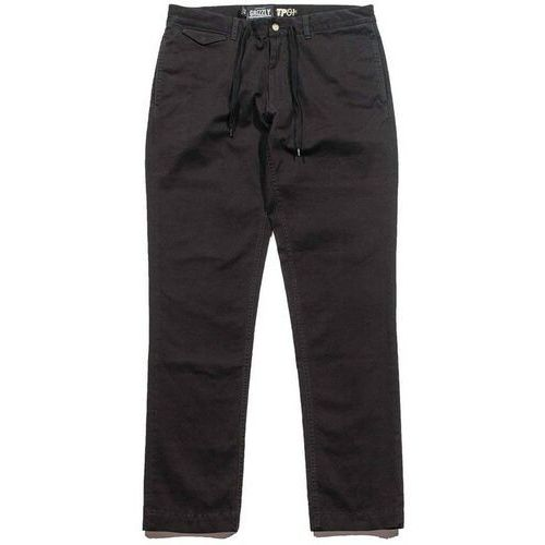 GRIZZLY - grizzly refuge chinos black (BLK), chinosy