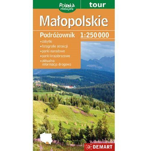 Małopolskie / Małopolska. Turystyczna mapa samochodowa. Wyd. 2014. Demart (9788374278119)