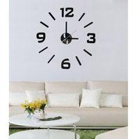 zegar ścienny czarny, hm-10e002 marki Stardeco