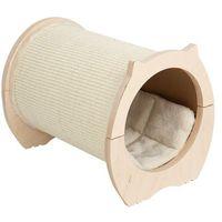 Natural paradise poziomy drapak dla kota, z legowiskiem - dł. x szer. x wys.: 41 x 30,5 x 32,5 cm| -5% rabat dla nowych klientów| dostawa gratis + promocje marki Zooplus exclusive