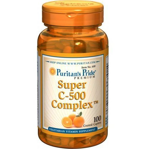 Tabletki Super C-500 Complex / 100 tab PURITAN'S PRIDE