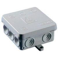 Puszka instalacyjna Wiska Ka12/leer/rot 10060825, IP54, (DxSxW) 80 x 80 x 40 mm, czerwony, 1 szt., 10060825