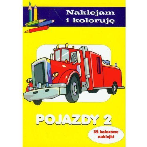 Naklejam i koloruję - Pojazdy 2, Olesiejuk