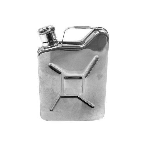 Mfh - max fuchs Piersiówka kanister - stal nierdzewna, 170 ml, ciekawy prezent