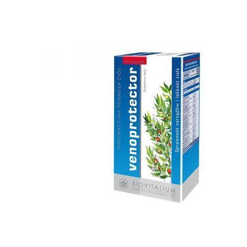Kapsułki Venoprotector (60 kaps.) - Suplement diety działający ochronnie na żyły i naczynia krwionośne oraz odbudowująco. Prawidłowe funkcjonowanie naczyń krwionośnych. DARMOWA DOSTAWA OD 65 ZŁ