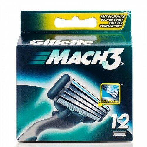 Gillette mach3 12 ostrzy - Rewelacyjna oferta