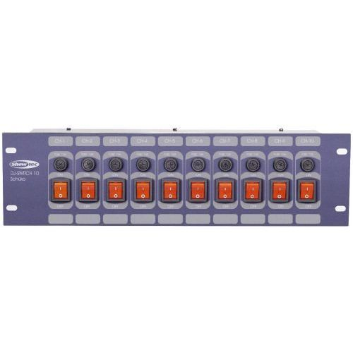 dj switch 10f panel marki Showtec