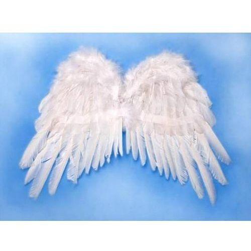 Party deco Skrzydła anioła białe - 50 x 35 cm - 1 szt. (5901157442727)