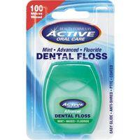 Active Oral Care Active- nić dentystyczna udoskonalona mięt. wosk. z fluorem 100 m - Drammock International Ltd. OD 24,99zł DARMOWA DOSTAWA KIOSK RUCH