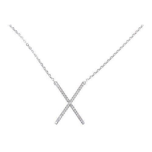 6627ea2687 Biżuteria damska ze srebra naszyjnik srebrny sł.034.01 marki Saxo - Zdjęcie  ...