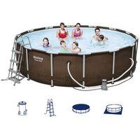 Bestway basen ogrodowy z wyposażeniem hydrium 13030l