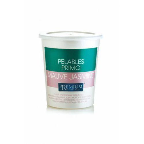 Premium textile Bezpaskowy wosk do depilacji mauve jasmine jaśminowy 700g