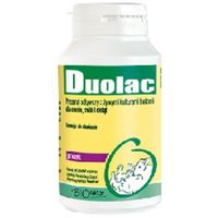 BIOFAKTOR Duolac - preparat odżywczy z kulturami bakterii dla gołębi - proszek 100g