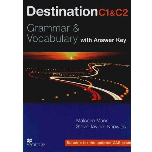 Destination C1&C2 Grammar & Vocabulary Student's Book (podręcznik) with Key, oprawa miękka