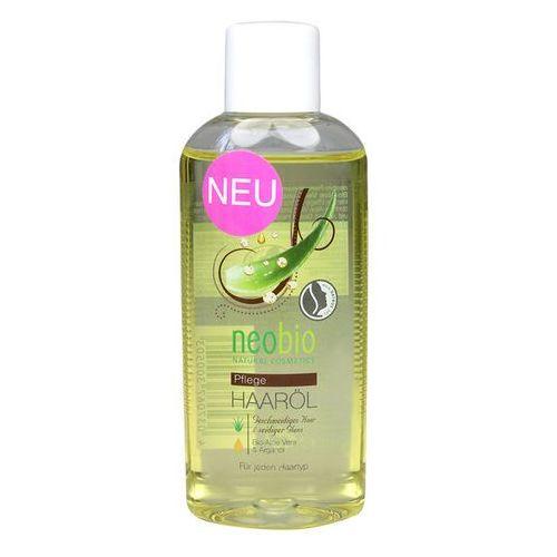Neobio (kosmetyki eko) Olejek do włosów z aloesem i olejkiem arganowym eko 75 ml - neobio