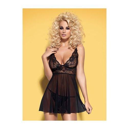 Obsessive Seksowna i elegancka koszulka imperia babydoll & thong s/m (5900308559017)