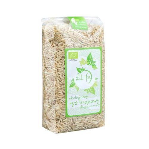1kg ryż brązowy długoziarnisty bio Biolife