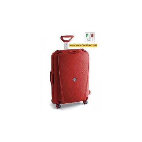 Roncato walizka duża z kolekcji roncato light 4 koła materiał polipropylen zamek szyfrowy tsa