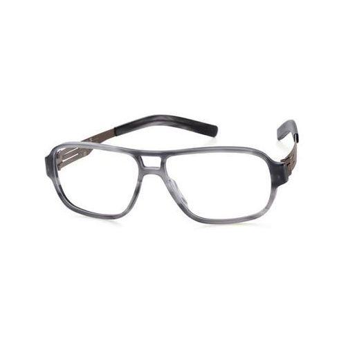 Ic! berlin Okulary korekcyjne a0636 lars g. smokey-matt