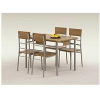 Zestaw HALMAR NATAN stół + 4 krzesła