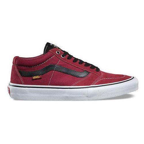 Buty VANS - Tnt Sg Tibetan Red (O3V), kolor czerwony