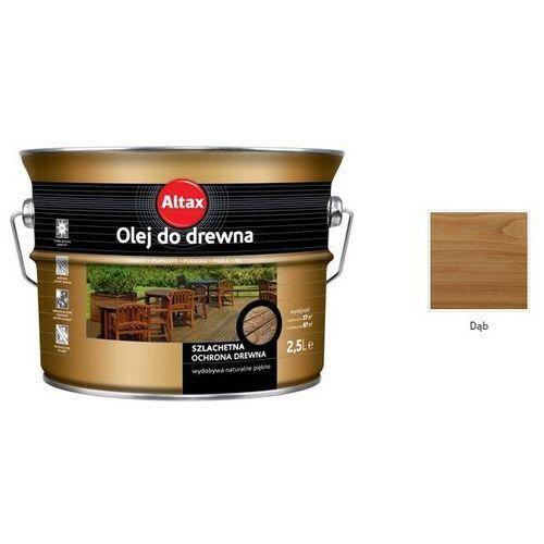 Olej do drewna, dąb, 2.5 l Altax