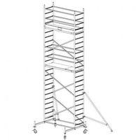 B2b partner Rusztowanie ruchome aluminiowe protec 7,3 m