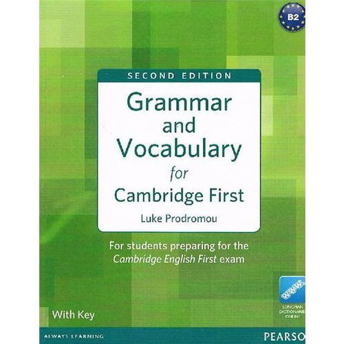 Grammar and vocabulary for Cambridge First with key (2012)