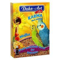 majka - pełnowartościowy pokarm z tranem dla małych papug 500g marki Dako-art