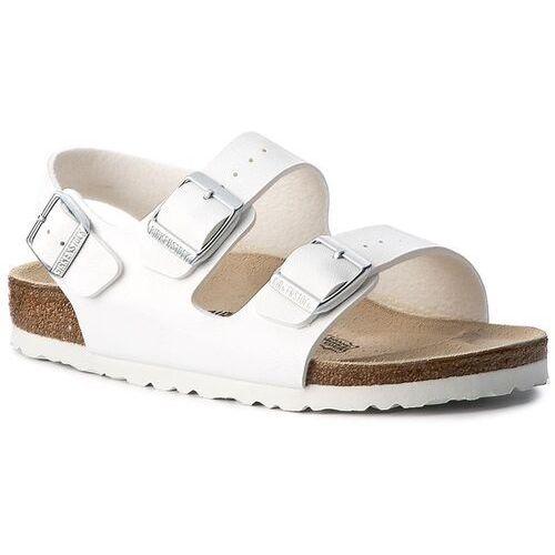 Sandały - milano 034733 weiss marki Birkenstock