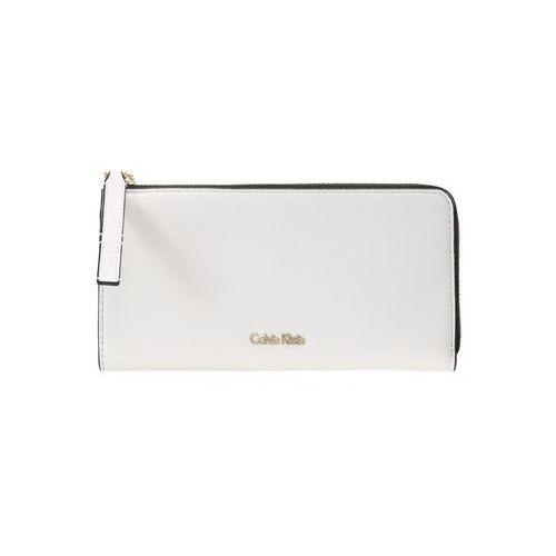 Calvin Klein DOWNTOWN LARGE ZIPAROUND Portfel white