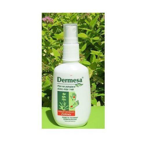 Płyn na pękającą skórę stóp i rąk Dermesa 65 ml
