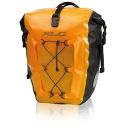 ba-w38 sakwa rowerowa pojedyncza wodoodporne, yellow 2020 sakwy marki Xlc