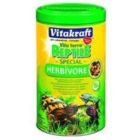 Vitakraft  reptile/turtle special herbivore pokarm granulowany dla żółwia lądowego i gadów roślinożernych 250ml
