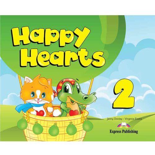 Happy Hearts 2 SB +multi-ROM EXPRESS PUBLISHING - Jenny Dooley, Virginia Evans (9781780989013)