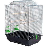 Akinu klatka dla ptaków emma cynk 54x39x71cm (8595184934248)