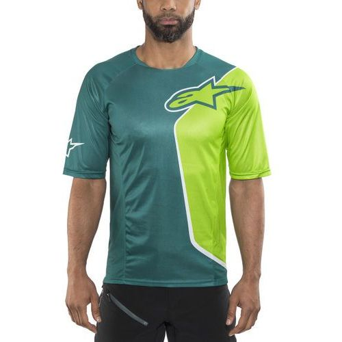 d79531644 Alpinestars sierra koszulka kolarska, krótki rękaw mężczyźni zielony/petrol  xxl 2017 koszulki mtb i