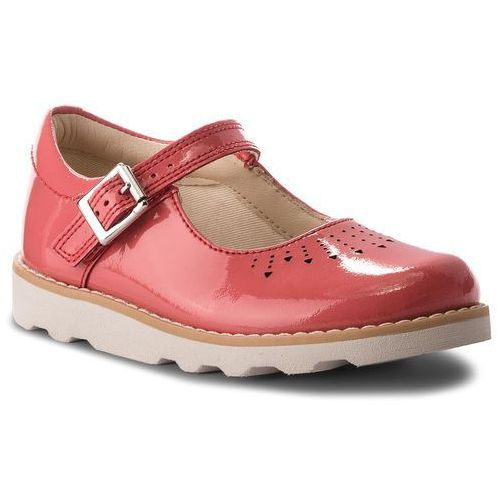 quality products professional sale thoughts on Półbuty - Crown Jump6 Coral Patent (Clarks)