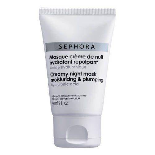 Sephora collection Nawilżająco-wypełniająca kremowa maseczka na noc - kwas hialuronowy