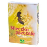 Mleczko pszczele liofilizowane 100mg 48 kaps.