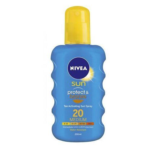 Nivea sun protect & bronze spray spf20 200ml w opalanie - Genialna promocja