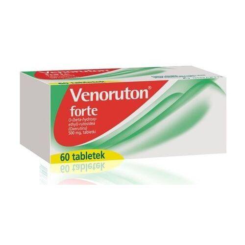 Venoruton forte 0,5g x 60 tabletek - Najlepsza oferta