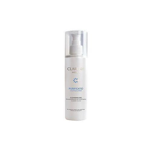 Cleansing gel żel antybakteryjny do mycia twarzy 200 ml Clarena