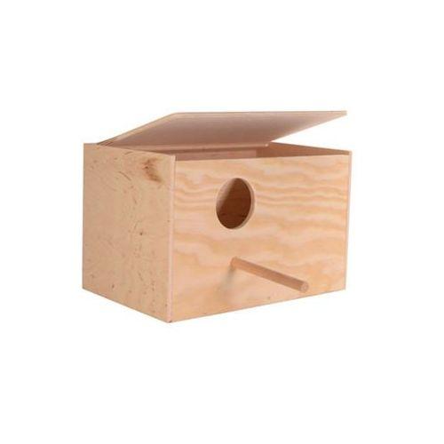 TRIXIE Domek dla papug 30/20/20 drewniany- RÓB ZAKUPY I ZBIERAJ PUNKTY PAYBACK - DARMOWA WYSYŁKA OD 99 ZŁ