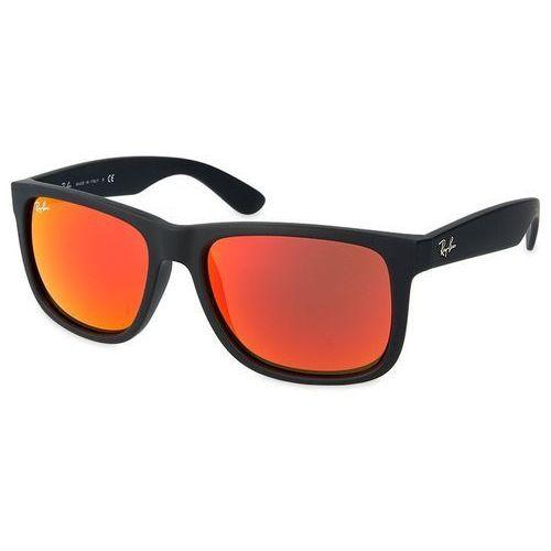 Ray-ban rb 4165 622/6q justin okulary przeciwsłoneczne + darmowa dostawa i zwrot