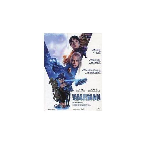 Kino świat Valerian i miasto tysiąca planet dvd + książka (płyta dvd) (9788380533332)